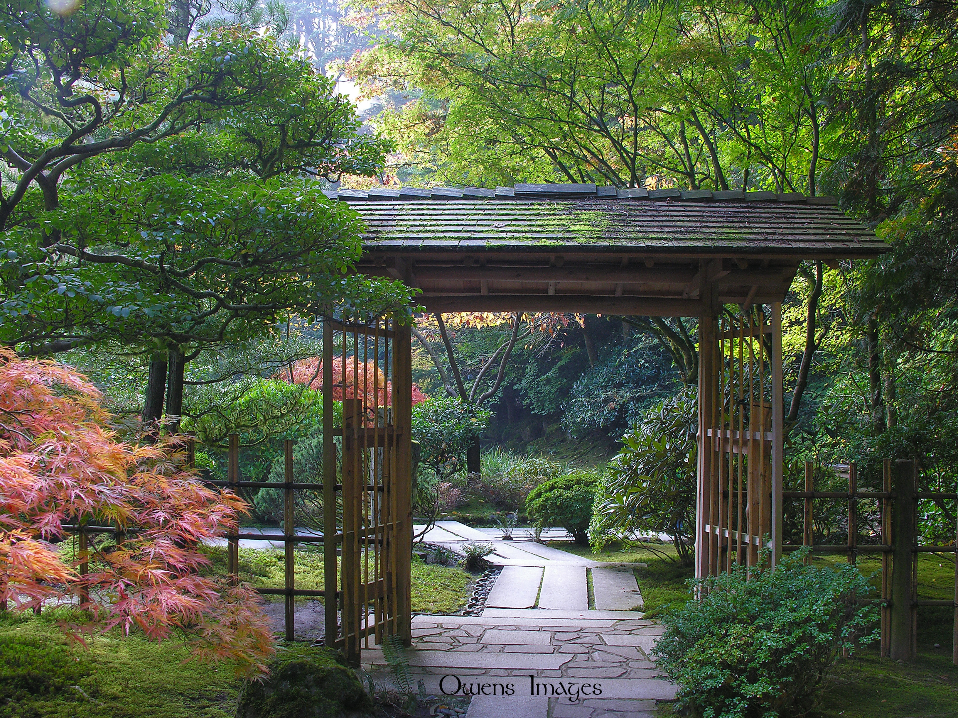 Inviting owens images for Japanese garden gate